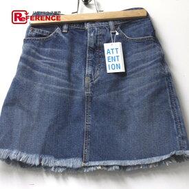SLY スライ デニム ショートスカート スカート デニム ブルー レディース 新品同様【中古】