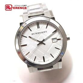 BURBERRY バーバリー BU9000 SS クォーツ シティ 腕時計 SS シルバー メンズ【中古】