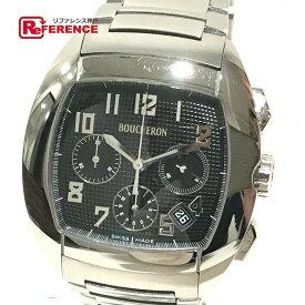 Boucheron ブシュロン WA006202 メンズ腕時計 MEC 腕時計 SS シルバー メンズ【中古】