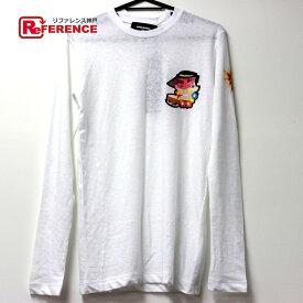 DSQUARED2 ディースクエアード 長袖 ロングTシャツ ホワイト レディース 未使用【中古】