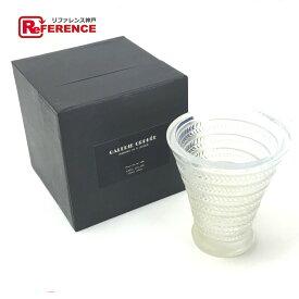 René Lalique ルネラリック 花瓶 オパルセントガラス アンティーク ガラス パール色 ユニセックス 未使用【中古】