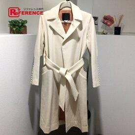 DOUBLE STANDARD CLOTHING ダブルスタンダードクロージング ロングコート ウール sov(ソヴ) アイボリー レディース【中古】
