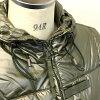 AUTHENTIC LOUIS VUITTON  Hooded Filling cotton Down jacket khaki Nylon