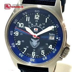 5d582f2b44 中古 Kentex ケンテックス S455M メンズ腕時計 JASDF Standard スタンダード 腕時計 SS/PU ブルー メンズ【中古】