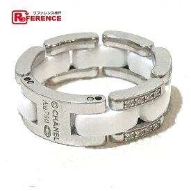 3a3ba6984d33 CHANEL シャネル ジュエリー ウルトラコレクション 750 ダイヤリング リング・指輪 ホワイトセラミック/ダイヤモンド/