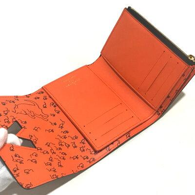LOUIS VUITTON ルイ・ヴィトン  M63889 短財布 ポルトフォイユ ツイスト コンパクト モノグラム キャットグラム 三つ折り財布(小銭入れあり) モノグラムキャンバス マロン (オレンジ) レディース【新品】