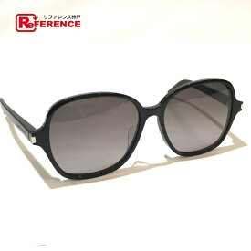 SAINT LAURENT PARIS サンローランパリ CLASSIC 8/F ファッション小物 クラシック サングラス プラスチック ブラック メンズ 新品同様【中古】