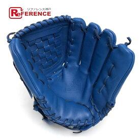 COACH コーチ 55699 ベースボール 野球 グローブ スポーツ用品 グローブ レザー ブルー メンズ 未使用【中古】