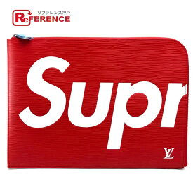 LOUIS VUITTON ルイヴィトン M67722 Supreme Louis Vuitton PO.JOUR GM SP EPI POCHETTE エピ ポシェット・ジュールGM ルイヴィトン×シュプリーム クラッチバッグ レッド ユニセックス【新品】