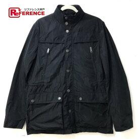 BURBERRY バーバリー メンズジャケット フード付き アウター ブルゾンジャケット ブラック メンズ【中古】
