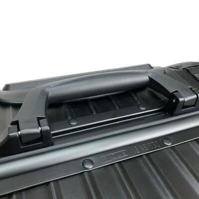RIMOWA リモワ  1756309 ルフトハンザ リモワトパーズ ステルス マルチホイール スーツケース 4輪   キャリーバッグ マットブラック メンズ 未使用【中古】