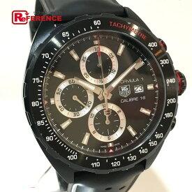 TAG HEUER タグホイヤー CAZ2011.FT8024 メンズ腕時計 フォーミュラ1 キャリバー16 クロノグラフ 腕時計 SS / ラバーベルト ブラック メンズ【中古】
