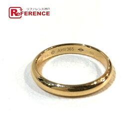 CARTIER カルティエ クラシックウェディング リング・指輪 K18 メンズ ゴールド 19.5号 【中古】