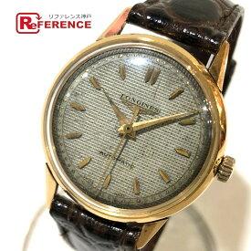 LONGINES ロンジン 自動巻き K18無垢 メンズ腕時計 腕時計 K18無垢 メンズ ゴールド 【中古】