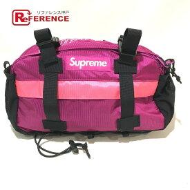 Supreme シュプリーム ボックスロゴ 2019FW Waist Bag ヒップバッグ・ウエストバッグ ナイロン メンズ ピンク マゼンタ ピンク 未使用 【中古】