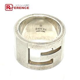 GUCCI グッチ Gロゴ Gリング リング・指輪 SV925 ユニセックス シルバー 8号 【中古】