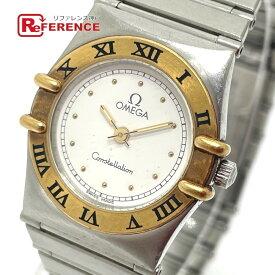 OMEGA オメガ コンビ コンステレーション クオーツ 腕時計 SS/YG レディース シルバー×ゴールド 【中古】