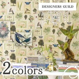 輸入壁紙/イギリス製/DESIGNERS GUILD (デザイナーズギルド):DESIGNERS GUILD (デザイナーズギルド)メーカー品番:PJD6001/01,PJD6001/02/1ロール(巾52cmx10m)単位販売/不織布/F☆☆☆☆/不燃