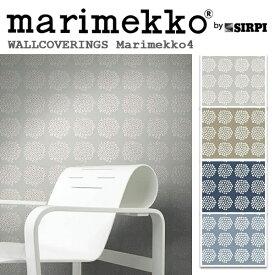 輸入壁紙/フィンランド(生産はイタリア)製/Marimekko4(マリメッコ4):marimekko(マリメッコ)メーカー品番:17910,17911,17912,17913/PUKETTI(プケッティ)/1ロール(巾53cmX10.05m)単位販売/不織布