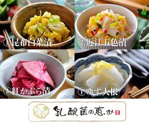 湖東発/乳酸菌の恵み 漬け物 選べる 3個セット/近江農産