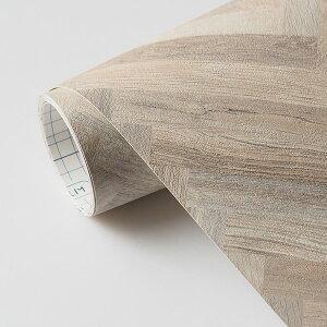 はがせる壁紙RILM93cm幅オーダーカット334木目柄へリボーンウッド返品・交換不可