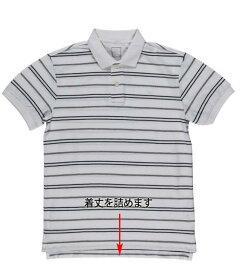 ポロシャツ 着丈詰め(脇スリットあり)