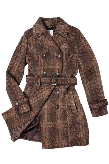 婦人コート袖丈詰め(ループ/ストラップ移動あり)