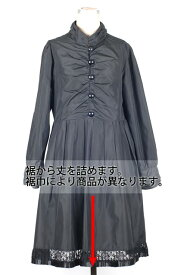 婦人ワンピース裾丈詰め フレアーワンピース(裾巾90cm以上)