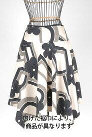 婦人フレアスカート裾丈詰め/出し(裾巾90cm以上)