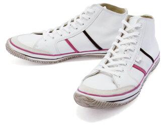 SPINGLE MOVE spingarmove SPM-421 WHITE/WHITE spingarmove SPM421 white / white leather sneakers