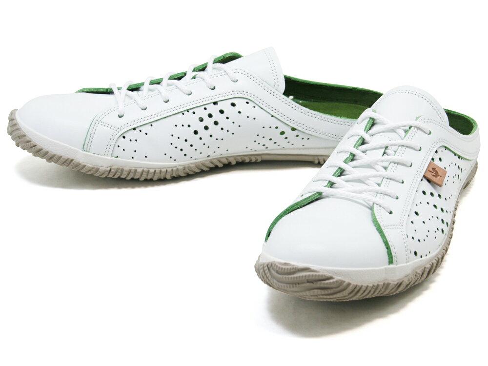 【170種類以上の圧倒的品揃え】SPINGLE MOVE スピングルムーブ SPM-721 White/Greenスニーカー SPM721 ホワイト/グリーンSPINGLE MOVE 【広島】【ハンドメイド】【送料無料】【サイズ交換可】【楽ギフ_包装】