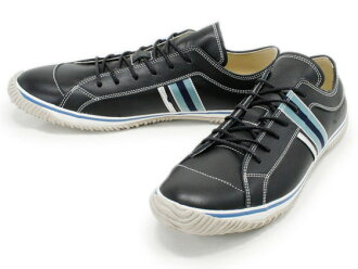 スピングルムーブ SPINGLE MOVE SPM-168 BLACK スピングルムーブ SPM168 black leather sneakers SPINGLE MOVE spingle move