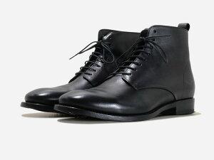 BUTTERO (ブッテロ) / KINGSLEY B7346 PE-DIV NERO ブラック メンズ シューズ 靴 スニーカー【送料無料】【サイズ交換可】