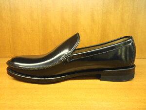 15DRBC紳士靴リーガル手縫いモカの革底ヴァンプ
