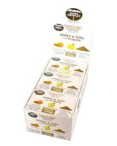 ハニードロップレット 柚子&プロポリス(1箱6粒入×12箱セット)箱買い はちみつ 蜂蜜 ハニージャパン