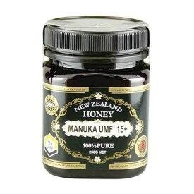 マヌカハニーUMF15+ 250g ハニージャパン Honey Japan (37ハニー) ニュージーランド ハチミツ【トレーサビリティ保証付】蜂蜜 免疫力 免疫 UMF? アクティブマヌカハニー