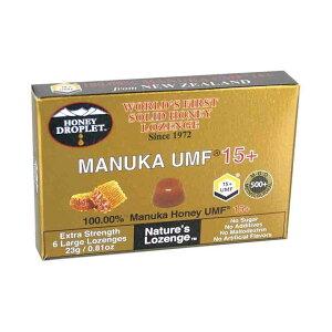 ハニードロップレット マヌカハニー UMF 15+ (1箱6粒入)マヌカハニー キャンディ のど飴 はちみつ 蜂蜜 マヌカキャンディ ハニージャパン 免疫力 免疫