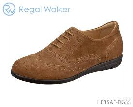 【3/30限定!ポイント最大12倍!楽天カードで】 リーガル レディース ウォーカー REGAL Ladies Walker HB35AF オックスフォードシューズ トラッドシューズ 幅広 3E 4E ワイズ調節可能 靴 正規品