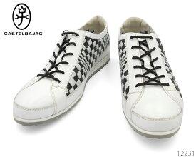 カステルバジャック CASTELBAJAC 12231 本革 靴 メンズ シューズ レザー スニーカー カジュアル