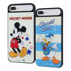 【ポイント10倍】iPhone8Plus iPhone7Plus iPhone6sPlus iPhone6Plus スマホケース ディズニー ミッキーマウス ドナルドダック 耐衝撃ケース キャトル パネル カバー | かわいい おしゃれ 可愛い 人気 携帯ケース 便利 カバー ケース