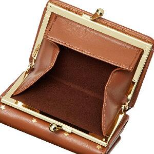 【ポイント10倍】財布三つ折り財布サイフがま口星スターステラート札入れレガートラルゴLegatoLargoLJ-G0901|レディースカード入れおしゃれかわいいカジュアル可愛い