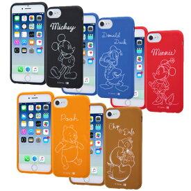 a0209b88bf 【ポイント10倍】iPhone8 iPhone7 iPhone6s iPhone6 スマホケース ディズニー シリコンケース ミッキー ミニー ドナルド