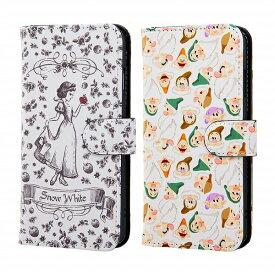 【ポイント10倍】iPhone8 iPhone7 iPhone6s iPhone6 スマホケース ディズニー 白雪姫 手帳型ケース アート マグネット カバー | かわいい おしゃれ 可愛い 人気 携帯ケース 便利 カバー ケース