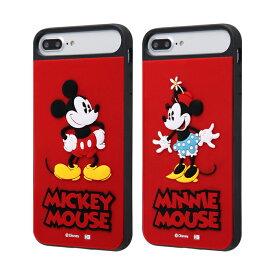 【ポイント10倍】iPhone8Plus iPhone7Plus iPhone6sPlus iPhone6Plus スマホケース ディズニー ミッキー ミニー 耐衝撃ケース シリコン カバー | かわいい おしゃれ 可愛い 人気 携帯ケース 便利 カバー ケース
