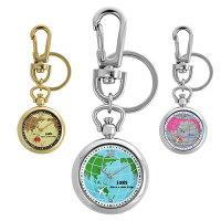 25d1bdef5680 PR 【ポイント10倍】腕時計 時計 キーホルダー 地球 世界地図 地.
