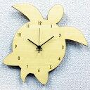 掛時計 ハワイアン 掛け時計 ホヌ アジアン シルエット クロック【ポイント10倍】