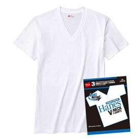 ≪ゆうパケットで送料300円≫【Hanes】 ヘインズ メンズ 3P-VネックTシャツ BLUE PACK(ブルーパック) H2125TN/HM2125G