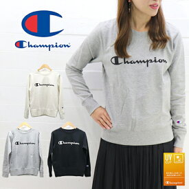 f6f37e5ee7291b ゆうパケットで送料270円≫Champion LADIES UV CUT CREW NECK SWEAT CW