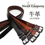 HawkCompanyBLACKNICKELBUCKLELEATHERBELT337/ホークカンパニーブラックニッケルバックルレザーベルト337ユニセックス