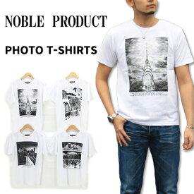 ≪SALE&ゆうパケットで送料300円≫NOBLE PRODUCT MENS FOAM PRINT PHOTO T-SHIRTS N720-21S / メンズ 発砲 フォトプリント Tシャツ N720-21S